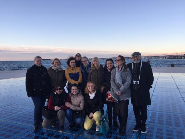 Curso en Zadar para profesores